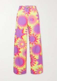 Dries Van Noten Printed Cotton-jersey Track Pants