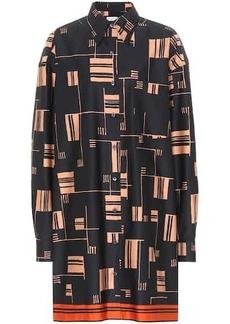 Dries Van Noten Printed cotton shirt dress