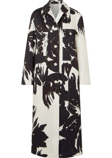 Dries Van Noten Printed Cotton-twill Coat