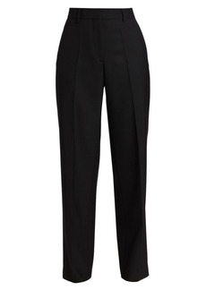 Dries Van Noten Pulley Wool-Blend Mid-Rise Pants