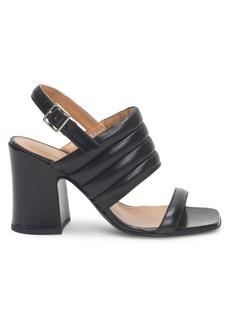 Dries Van Noten Quilted Block Heel Sandals