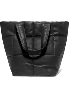 Dries Van Noten Quilted Textured-leather Tote
