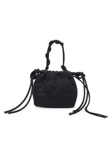 Dries Van Noten Satin Top Handle Evening Bag