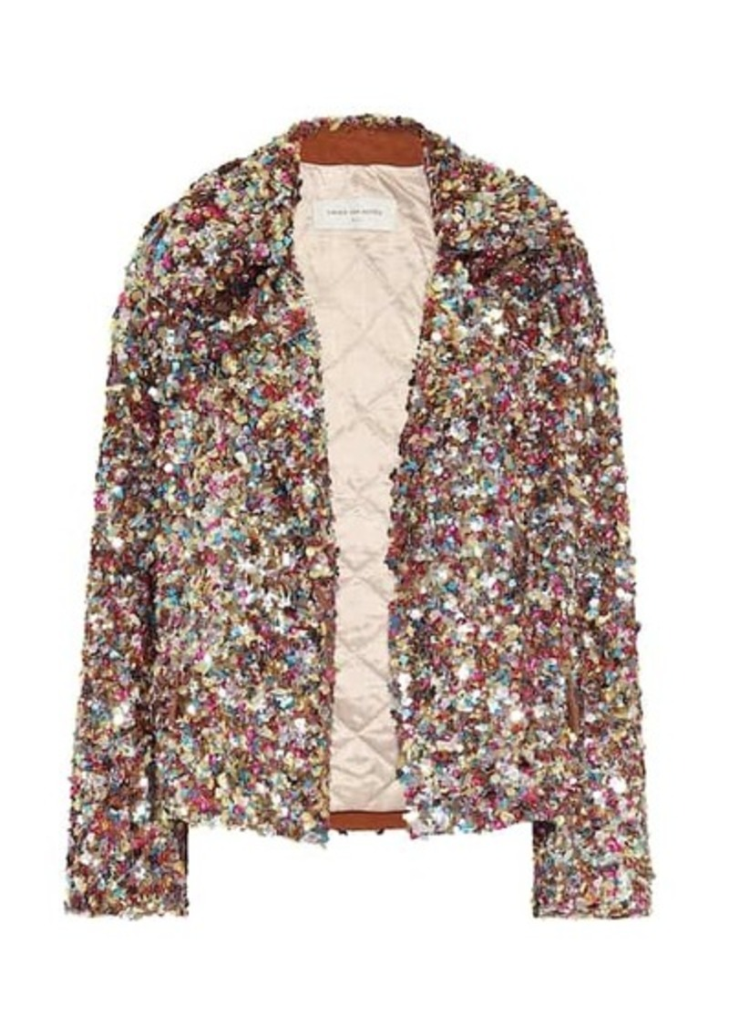 Dries Van Noten Sequined jacket