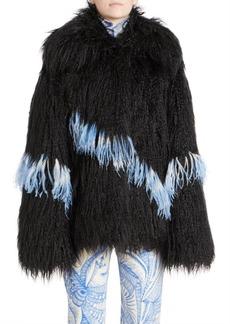 Dries Van Noten Shaggy Faux-Fur Jacket