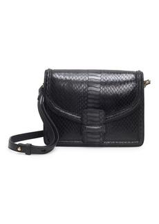 Dries Van Noten Snake-Print Leather Crossbody Bag