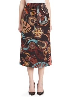 Dries Van Noten Drawstring Midi Skirt