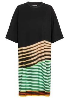 Dries Van Noten Striped cotton T-shirt dress