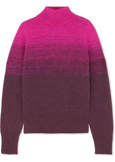 Dries Van Noten Taraz Ombré Knitted Turtleneck Sweater