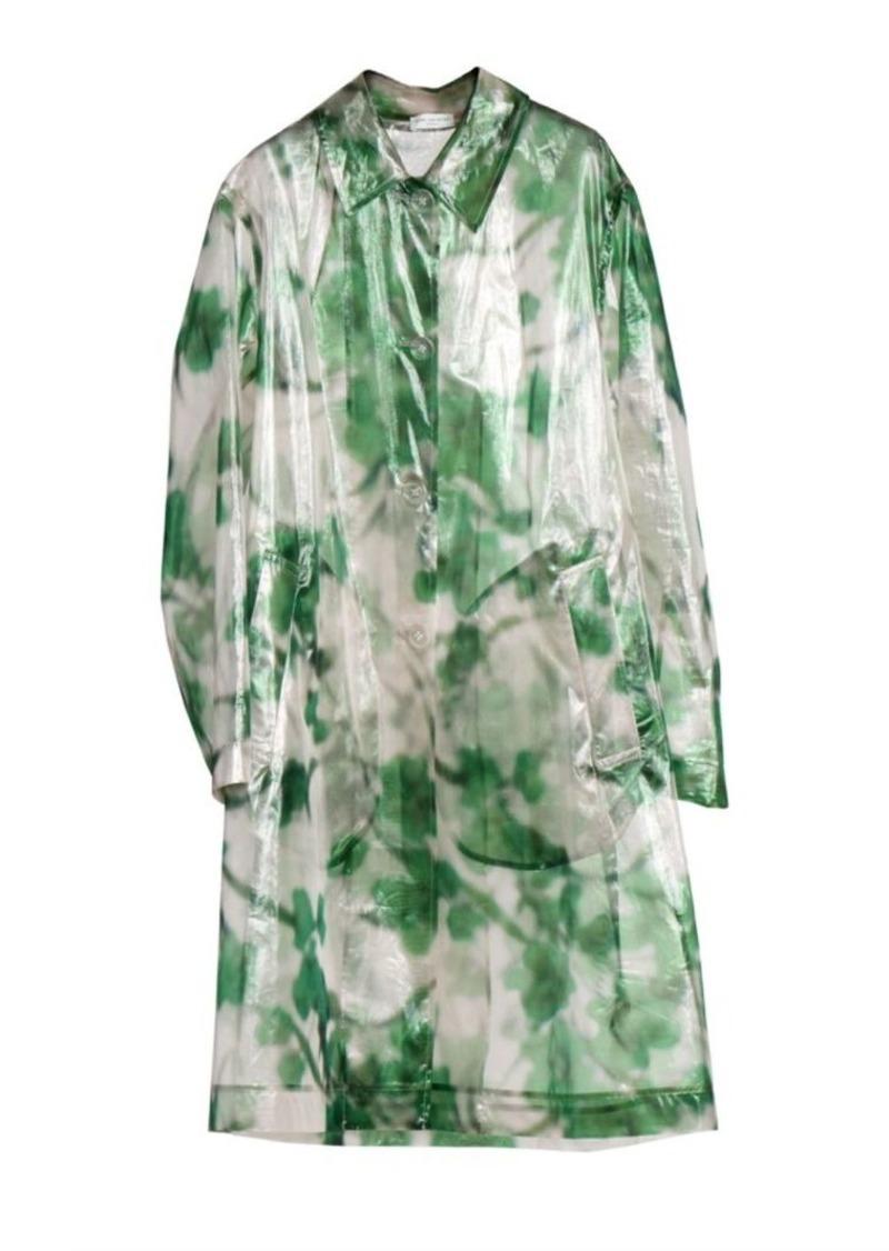 Dries Van Noten Transparent Floral Jacket