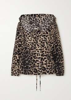 Dries Van Noten Leopard-print Shell Jacket
