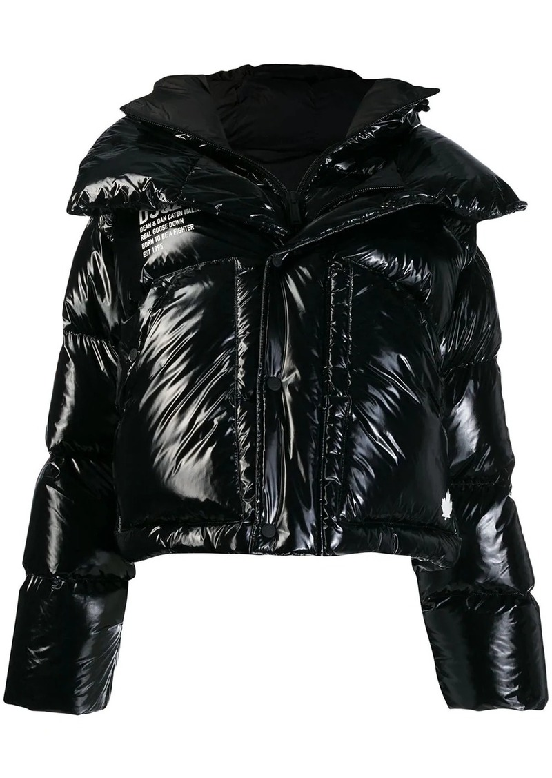 Dsquared2 Fighter padded jacket
