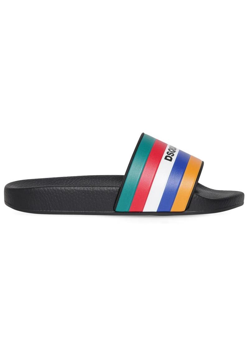 Dsquared2 10mm Rubber Slide Sandals