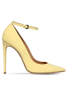 Dsquared2 110mm Patent Leather Ankle Strap Pumps