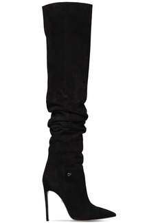 Dsquared2 110mm Suede Over The Knee Boots