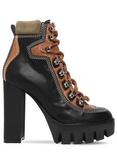 Dsquared2 120mm Lace-up Leather Hiking Boots