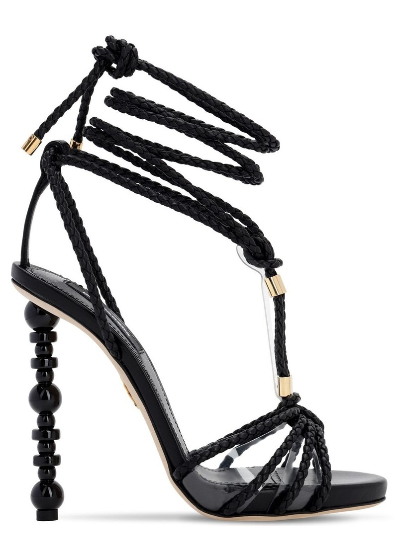 Dsquared2 120mm Leather Sandals