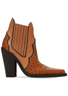 Dsquared2 120mm Western Leather Boots