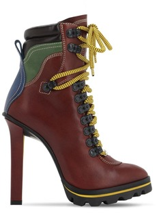 Dsquared2 120mm Yukon Leather Ankle Boots