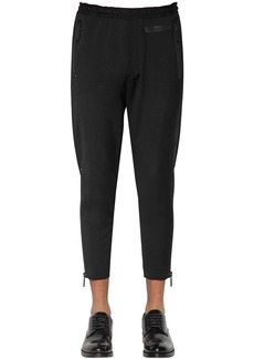 Dsquared2 14cm Skinny Wool Cady Sweatpants