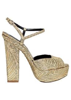 Dsquared2 150mm Brocade Platform Sandals