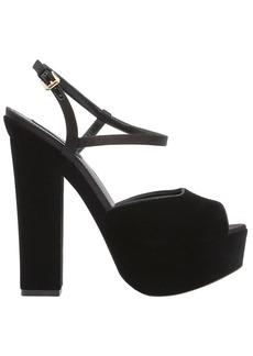 Dsquared2 150mm Velvet Platform Sandals