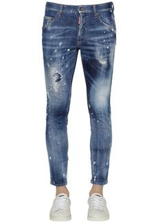 Dsquared2 15cm Skinny Cotton Denim Jeans