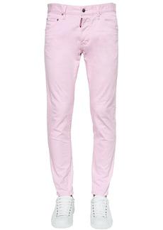 Dsquared2 15cm Skinny Dan Cotton Twill Jeans