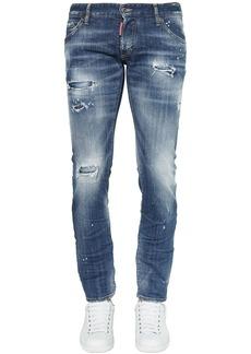 Dsquared2 16.5cm Clement Cotton Denim Jeans