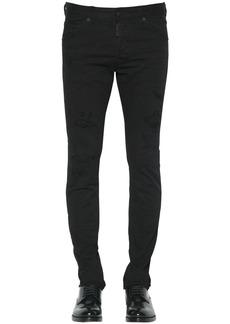 Dsquared2 17.5cm Slim Jean Fit Cotton Denim Jeans