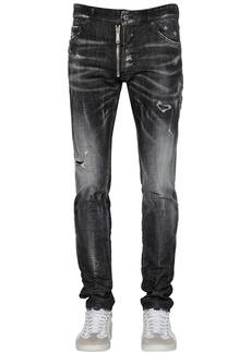 Dsquared2 16.5cm Cool Guy Cotton Denim Jeans W/zip