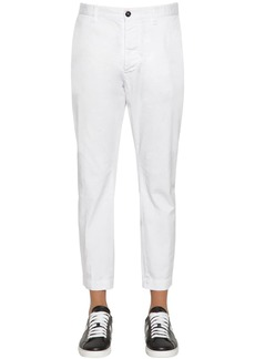 Dsquared2 16.5cm Hockney Fit Cotton Twill Pants