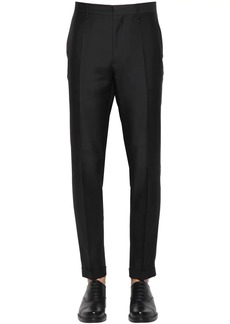 Dsquared2 16.5cm London Fit Silk & Wool Pants