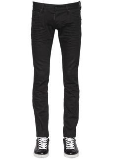 Dsquared2 16.5cm Long Clement Stretch Denim Jeans