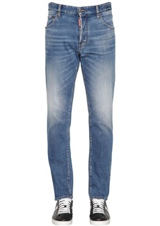 Dsquared2 16.5cm Sexy Mercury Cotton Denim Jeans