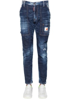 Dsquared2 16.5cm Workers Cotton Denim Jeans