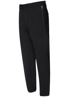 Dsquared2 16cm Brad Stretch Wool Zip Pants
