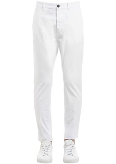 Dsquared2 16cm Hockney Cotton Twill Pants