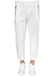 Dsquared2 16cm Hockney Light Cotton Twill Pants