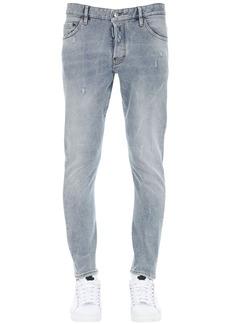 Dsquared2 16cm Printed Sexy Twist Denim Jeans