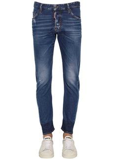 Dsquared2 16cm Sexy Twist Cotton Denim Jeans