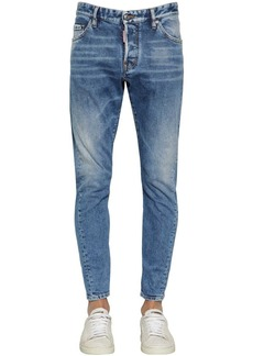 Dsquared2 16cm Sexy Twist Cotton Denim Jeans