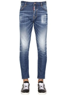 Dsquared2 16cm Skater Cotton Denim Jeans