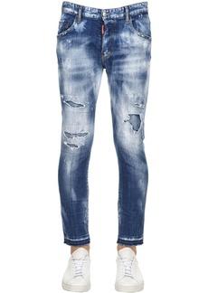 Dsquared2 16cm Skater Super Bleached Denim Jeans