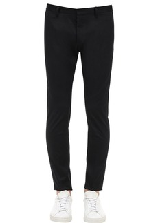 Dsquared2 16cm Skinny Dan Cotton Twill Chinos