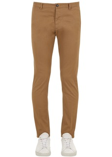 Dsquared2 Tidy Fit Stretch Cotton Twill Pants