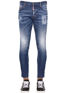 Dsquared2 17.5cm Straight Leg Denim Jeans