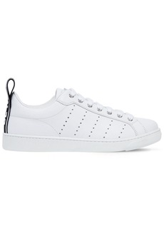 Dsquared2 20mm Be Cool Be Nice Leather Sneakers