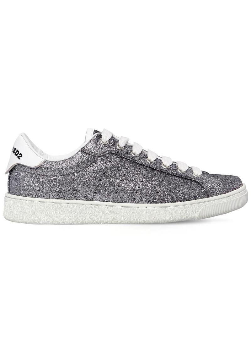 Dsquared2 20mm Santa Monica Glittered Sneakers