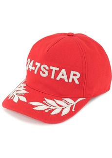 Dsquared2 24-7 Star embroidered baseball cap